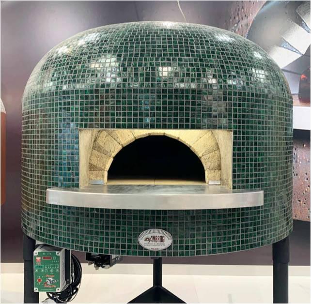 horno mosaico napoli de ambrogi forni