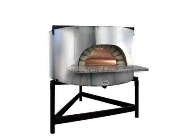 four à pizza modèle base-mec80