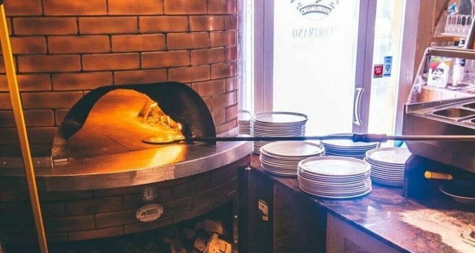 forno a gas per pizzeria